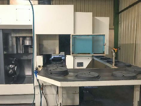 HESSAP DVH 450E CNC VERTICAL TURNING LATHE (C-AXIS)